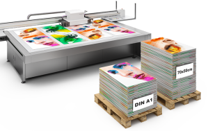 Plattendirektdruck bei Firmenschilder