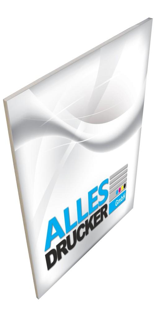 PVC-Hartschaum Werbeschild