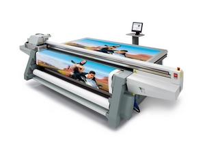 Druckmaschine für Werbeplanen-Werbebanner